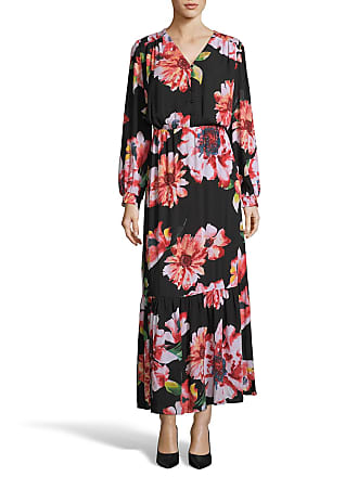 5twelve Floral Button-Detail Flounce Maxi Dress