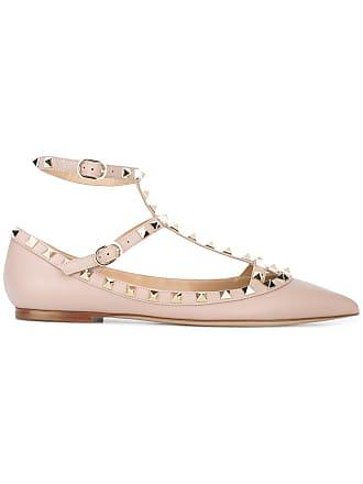 f6d6fa82e905 Valentino Valentino Garavani Rockstud ballerinas - Pink