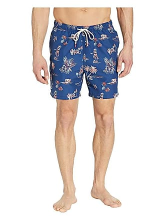 0f9adc3654 Tommy Bahama Naples Hula Hut Swim Trunks (Throne Blue) Mens Swimwear
