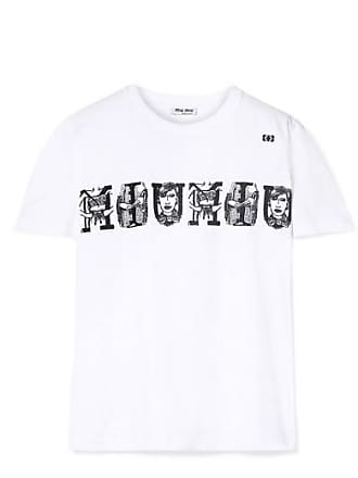 a6b96aadc589a Miu Miu® T-Shirts: Must-Haves on Sale up to −60% | Stylight