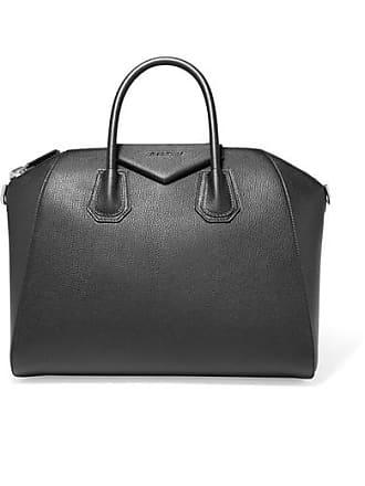 Givenchy Antigona Medium Textured-leather Tote - Black