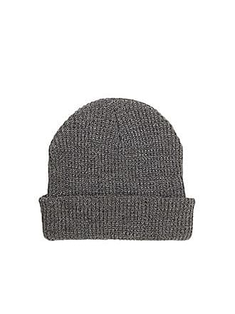 21 Men Ribbed Knit Beanie at Forever 21 Heather Grey