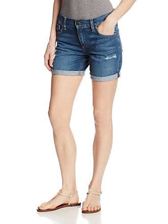 Joe's Womens Vintage Reserve Five-Inch Rolled Short in Sloane, Medium Blue, 31
