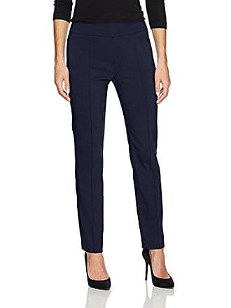 Ruby Rd. Womens Pull-on Solar Millennium Tech Ankle Pant, Navy 6