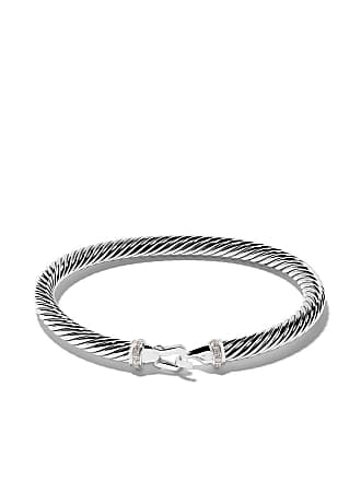 David Yurman Cable Collectibles diamond buckle bracelet - Ssadi