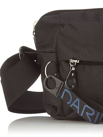 Mandarina Duck Womens Md20 Tracolla Messenger Bags, Black, 10x21x28.5 cm (B x H x T)