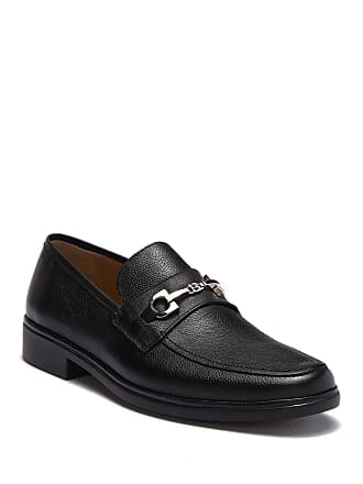 Bally Cadore Bovine Grained Bit Buckle Loafer