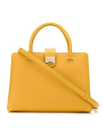 Jimmy Choo London Bolsa Marianne de couro - Amarelo