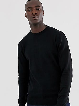 Mens Jumper by Brave Soul /'Maximus/' Crew Neck Sweater Knitted Pullover Knitwear