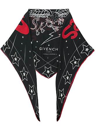 Givenchy Lenço Creatures estampado - Preto