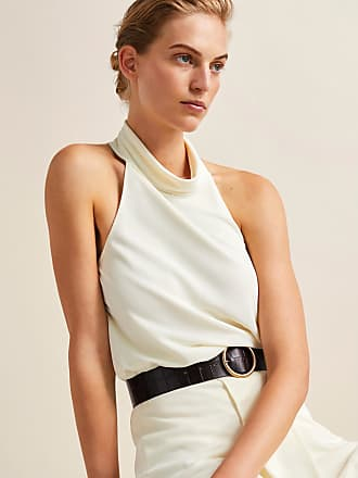 MASSIMO DUTTI TEXTURED WEAVE TOP