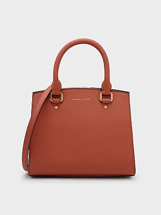 Charles & Keith Classic Structured Handbag