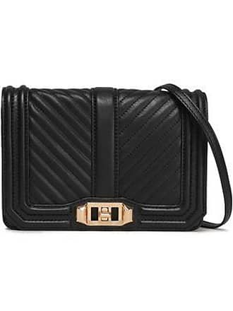 Rebecca Minkoff Rebecca Minkoff Woman Quilted Leather Shoulder Bag Black Size