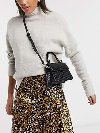 Pimkie top handle mini bag in black
