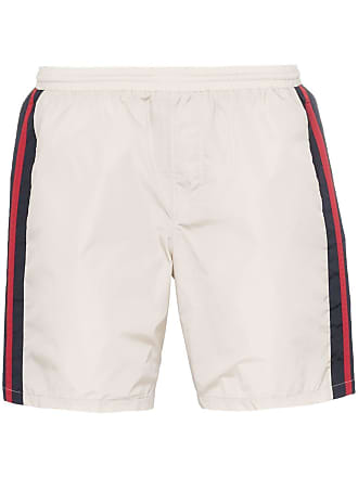 4d80d71f8f Gucci monogram stripe swim shorts - Neutrals