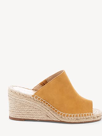 57aee4abbca Sole Society Womens Caleena Espadrille Wedges Baked Yellow Size 7.5 Leather  From Sole Society