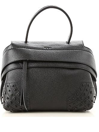 7b82efc6d Tod's Shoulder Bag for Women On Sale, Black, Leather, 2017, one size
