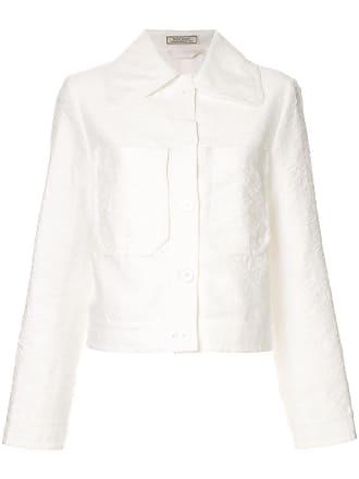 Nina Ricci Jaqueta com textura - Branco