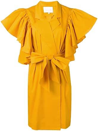 Johanna Ortiz Vestido envelope - Amarelo