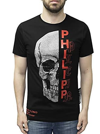 8119e73473c353 Philipp Plein T-Shirt Platinum Cut - Gothic Plein - with Skull Print (XXL