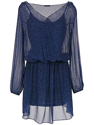 Tufi Duek Vestido curto estampado - Azul