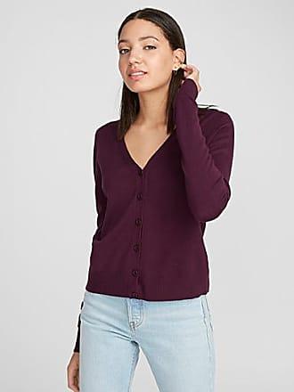 Twik Basic V-neck cropped cardigan