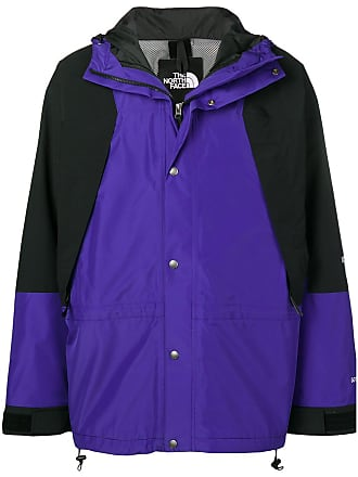 The North Face concealed zip jacket - Blue