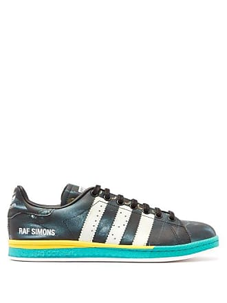 new arrival fdac2 3e379 Raf Simons Rs Samba Stan Smith Leather Trainers - Mens - Black Multi