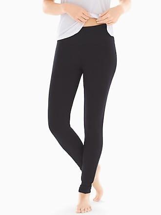 Soma Fine Fleece Slimming Leggings, Black, Size XXL
