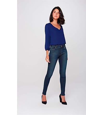 Damyller Calça Cigarrete Jeans Feminina Tam: 42 / Cor: BLUE