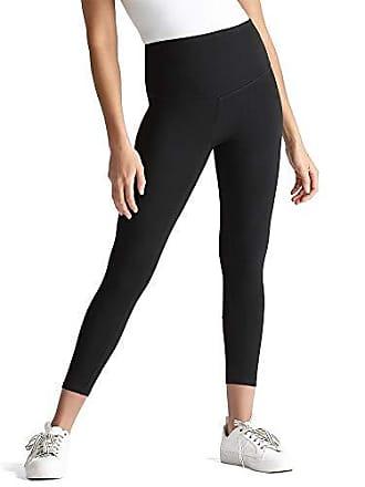 Yummie Tummie Womens Gloria Skimmer Cotton Stretch Shapewear Legging, Black, Medium