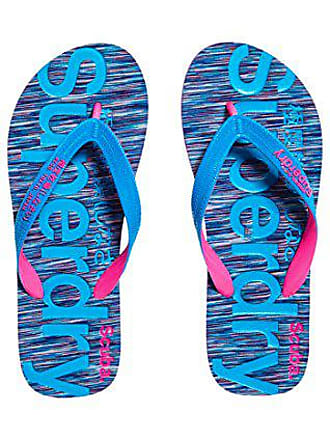 Slub Flop Tongs Flip EU Blue Multicolore 39 38 Scuba Femme Purple OM2 Superdry UqSBn8xFE