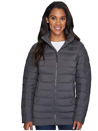 The North Face Stretch Down Parka (Asphalt Grey) Womens Coat d14eb1ce9