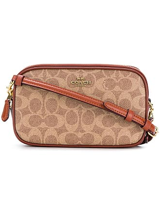Coach printed crossbody bag - Brown