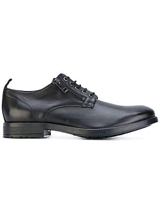 Diesel Sapato de couro - Preto