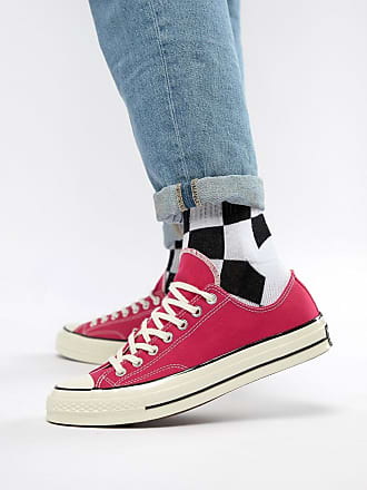 27e9c4f62021 Converse Chuck Taylor All Star 70 Ox Trainers In Pink 161445C