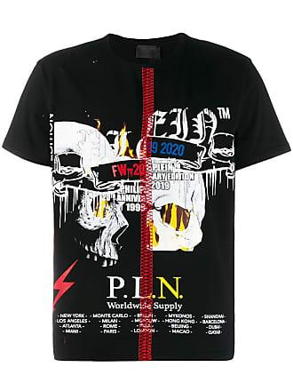 Philipp Plein Camiseta com estampa - Preto