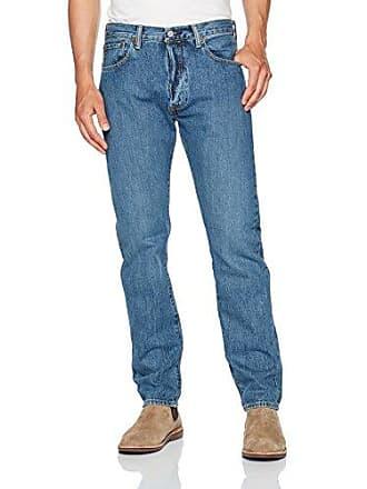Levi's Mens 501 Original Fit Jean, Anchovies, 44 32