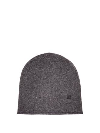 d815ca54e13 Acne Studios Pansy S Face Wool Beanie Hat - Womens - Grey