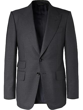 ac4720d8b52 Tom Ford Navy Shelton Slim-fit Puppytooth Wool Suit Jacket - Navy