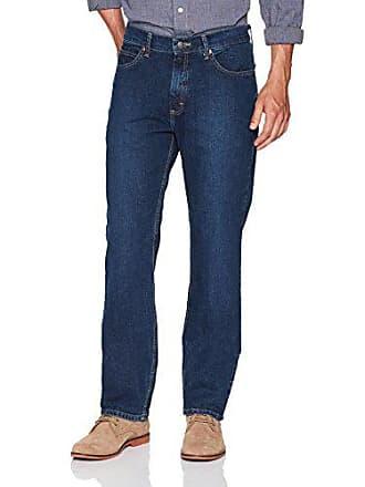 Lee Mens Relaxed Fit Straight Leg Jean, Kramer, 42W x 34L