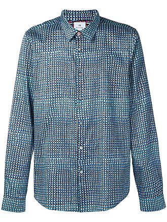 Paul Smith classic checked shirt - Azul