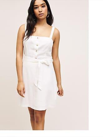 Dynamite Linen Cami Dress Marshmallow White