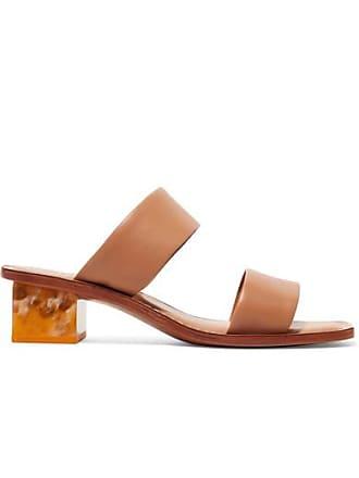 Mercedes Castillo Lavinia Leather Sandals - Tan