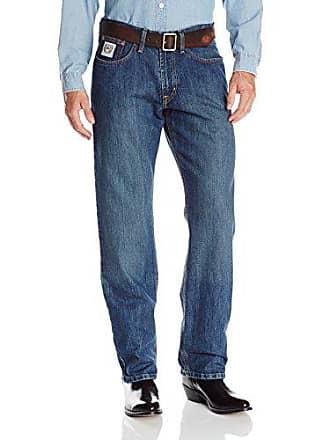 6f0db93f Cinch Mens White Label Relaxed Fit Jean, Dark Wash, 32W x 30L