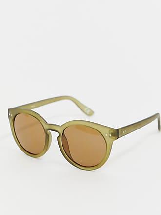 6582c48decf33a Reclaimed Vintage Inspire - Lunettes de soleil rondes - Vert - Exclusivité  ASOS - Vert