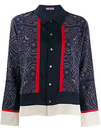 Undercover by Jun Takahashi patterned blouse - Azul
