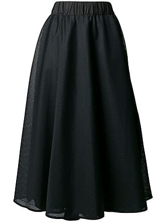No Ka'Oi side stripe mesh skirt - Black