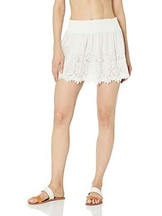 Ramy Brook Womens Junia Skirt, White Combo, Medium