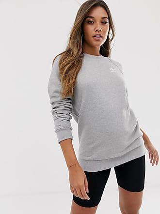 b1a79015ad54 adidas Originals Essential crew neck sweat in grey - Grey